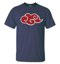Naruto Akatsuki Red Cloud T Shirt