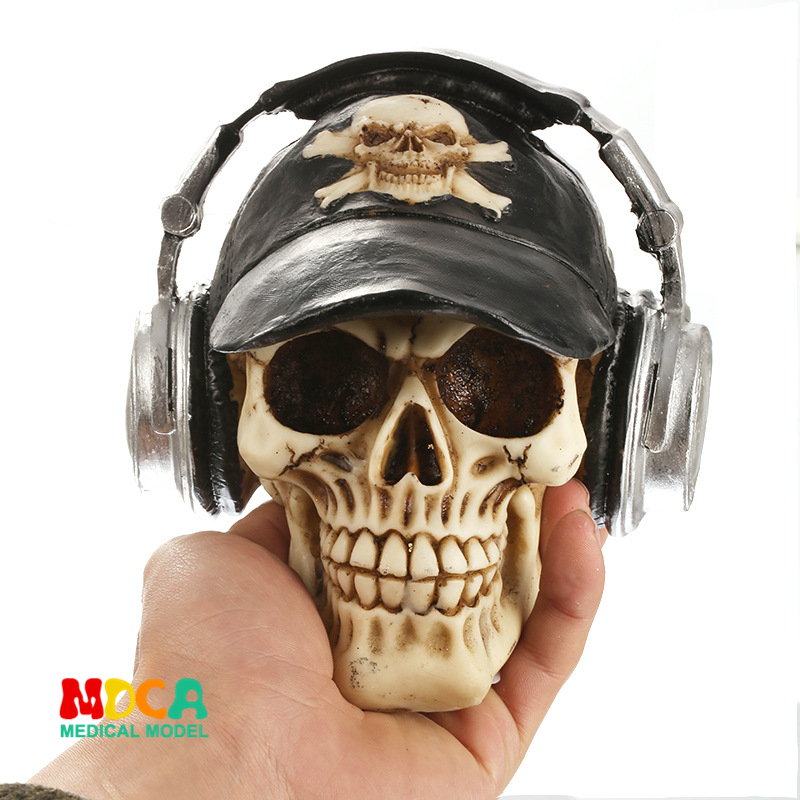 Resin skull Halloween gifts personal ornaments home accessories GXGT023Resin skull Halloween gifts personal ornaments home accessories GXGT023