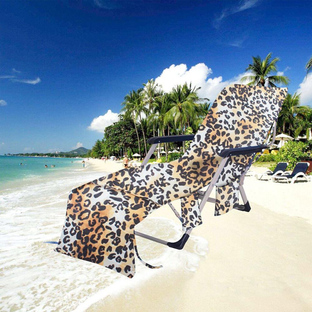 Beach towel recliner set Beach chair towel Bath towel Beach chair blanket Cover 75x215CM For Pool Sun Lounger Hotel Vacation @16