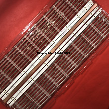 5 unids/lote 10leds Barra de retroiluminación LED para AOC 43 pulgadas Hai er 43CH6000 LB PF3528 GJD2P5C435X10 B pantalla TPT430H3 LB43101 V0_01