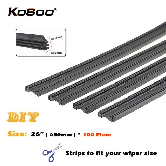 kosoo express shipping 100pcs lot car vehicle insert rubber strip rh aliexpress com Audi 100 Wagon Audi 100 CS