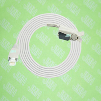 Compatible with RJ12 6P6C Placo Oximeter monitor the Adult finger Nellcor clip spo2 sensor.