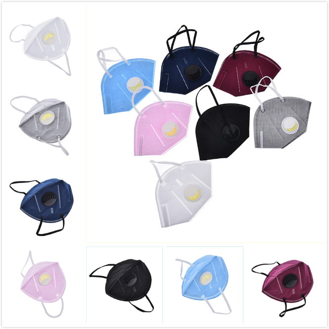 Cotton PM2.5 Anti Haze Mask Breath Valve Anti-dust Mouth Mask Activated Carbon Filter Respirator Mouth-muffle Mask Face Hot Sale