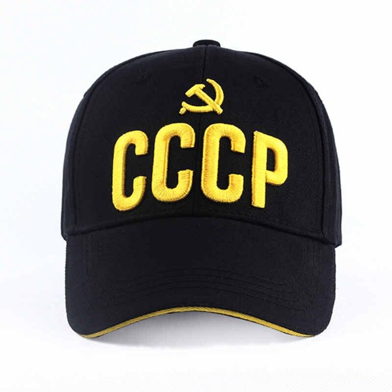 2019 new CCCP USSR Russische Hot Koop Stijl   Baseball     Cap   Unisex   Cap   3D embroidery borduren Beste kwaliteit   Cap   hats