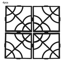 40*40*4cm DIY Paving Mould New Floor Mold Plastic Cement Mould Plastic Path Maker Cement Mold High Quality Garden Supplies cement garden