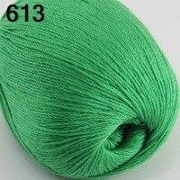 High Quality 100 Pure Cashmere Luxury Warm Soft Hand Knitting Yarn Green 233 13