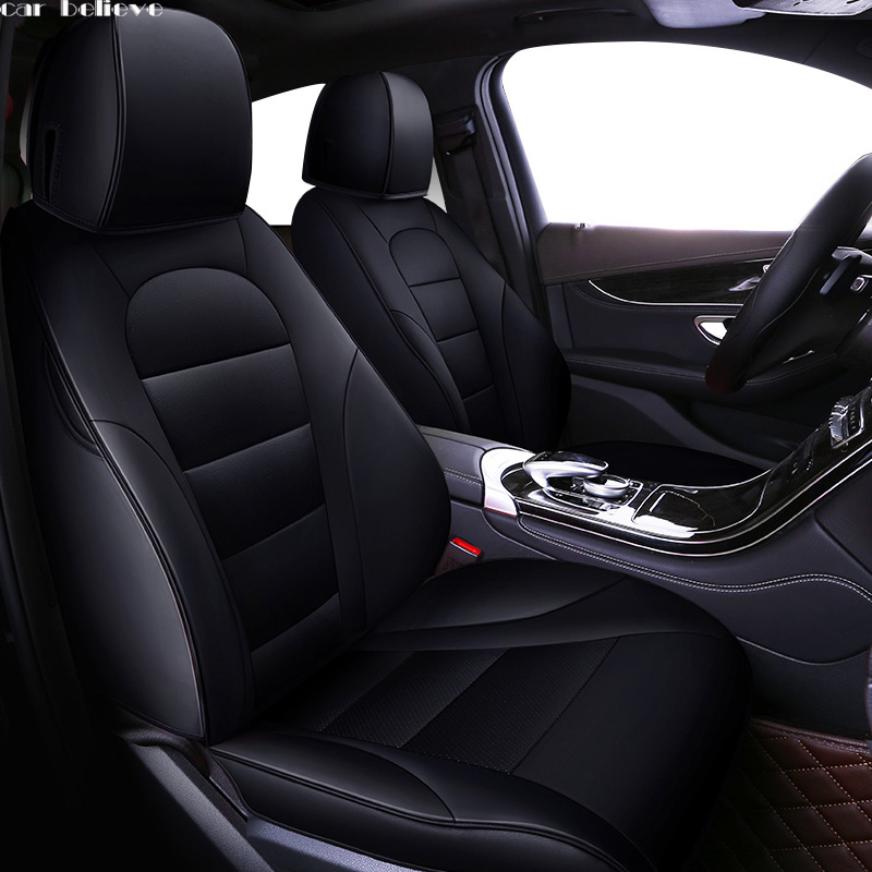 Car Believe car seat cover For mercedes w204 w211 w210 w124 w212 w202 w245 w163 accessories