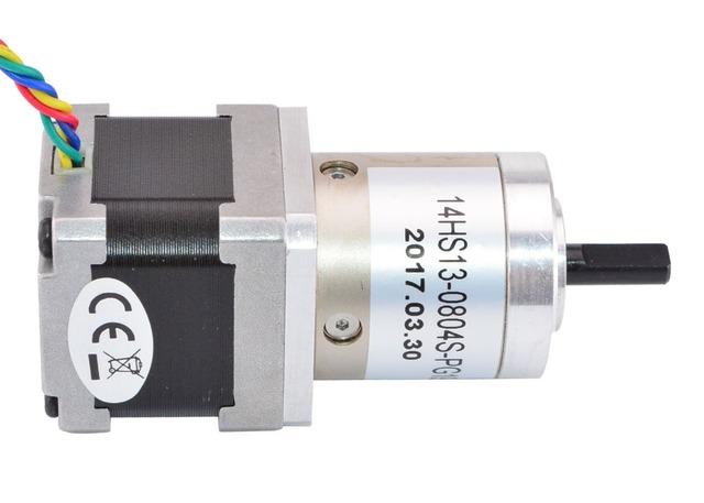 19:1 Planetary Gearbox Nema 14 Stepper Motor 0.8A for DIY CNC Robot 3D Printer
