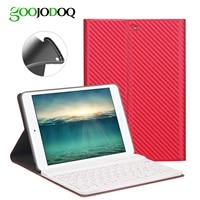 For IPad Mini 3 2 1 Case Keyboard Silicone Soft PU Leather Smart Cover For IPad