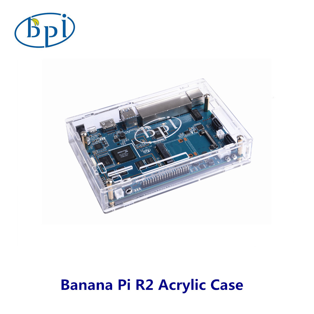 Banana PI R2 Acrylic/Clear Case