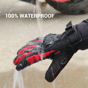 Image 4 - SUOMY Motorcycle Gloves Men 100% Waterproof Windproof Moto Gloves Touch Screen Gant Moto Guantes Motorbike Riding Gloves