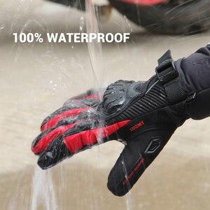 Image 4 - Suomy Motorfiets Handschoenen Mannen 100% Waterdicht Winddicht Moto Handschoenen Touch Screen Gant Moto Guantes Motorrijden Handschoenen