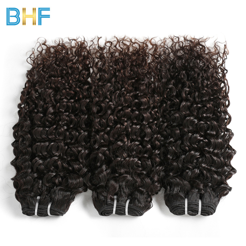 BHF Hair Mink Peruvian Water Wave Human Hair 3 Bundles Deals Unprocessed Virgin Peruvian Hair Weave Bundles Natural Color