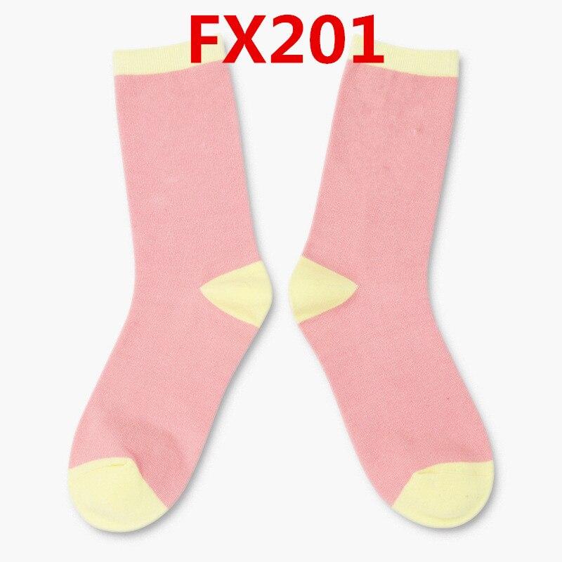 2018 nuovo arriva di modo calzini Delle Donne di alta qualità FX201 modello 10 pz/set