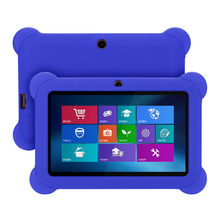 Silicone Gel Protective Back Case Cover For 7 Inch Android Tablet Q88 #5$ 2.8(China)