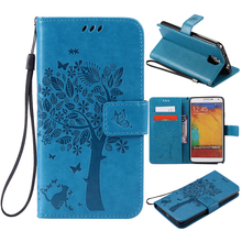 Для Samsung Note 3 коке чехол Для Fundas Samsung Galaxy Note 3 Note3 N900 N9000 N9005 3D Бумажник Магнит Флип Кожаный Чехол случае