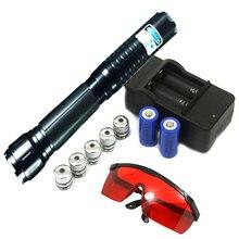 Il Più Potente del Laser Della Torcia Bruciare 70000 m Puntatore Laser Blu 450nm Accendere Potente Potente Lazer di Auto Difesa