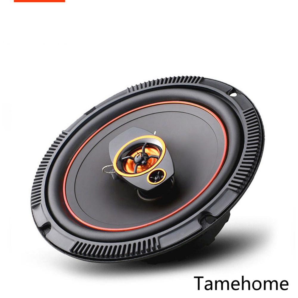 1 pair orange 6 5 inch 2 way coaxial car speaker tweeter host1 pair orange 6 5 inch 2 way coaxial car speaker tweeter host dropshipping car high power bass audio speaker set automotive auto