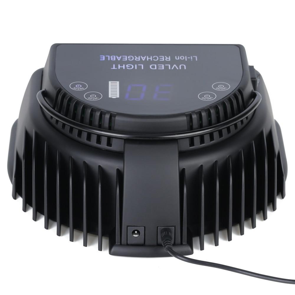 Kuantin UV Led Lamp Nail Oplaadbare Batterij Draagbare Professionele Nagel Droger UV Led Gel Drogen Nail Gereedschap - 3
