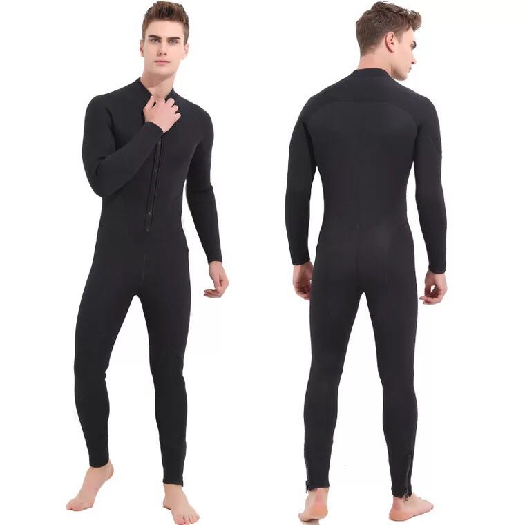 Yliquor Mens Fashion Wetsuit Keep Warm Sunscreen Full Body Long Sleeves Scuba Suit Diving Skin Suit for Youth Adults Swimming Scuba Diving Snorkeling Surfing