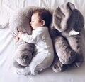 2016 Новая Мода Baby Животных Слон Подушку Кормление Подушка Детская Комната Постельные Принадлежности Украшения Дети Плюшевые Игрушки 45x23x53 см