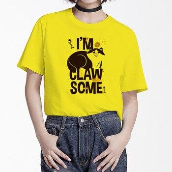 BGtomato 2019 Summer Novelty Women T Shirt I AM CLAW SOME CAT Print Women tshirt Harajuku Kawaii Cute Style Nice Short Sleeve