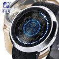 Japão Relógio de Anime em torno de Sebastian Charles Diácono Preto touch-screen LED à prova d' água luminosa relógio Digital relógios de Pulso