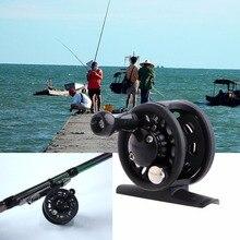 55g Fly Fish Reel Former 1BB Ball Bearing Fish Reel Rafting Ice Fishing Wheel