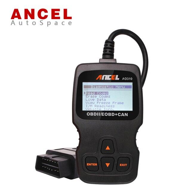 ANCEL AD310 OBD2 Auto DTCs  Error Fault Code Erase Reader Reset Scanner LCD Display Car Engine Diagnostic OBD 2 PK VS890 OM123