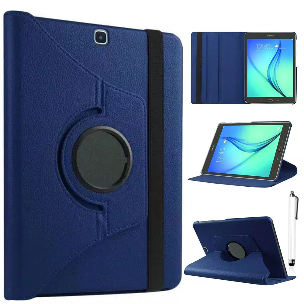 Eagwell 360 Degree Rotate PU Leather Case For Samsung GALAXY Tab S2 8.0 T715 Flip Stand Smart Case Cover Tablet Shell Skin Funda