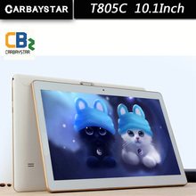 10.1 Pouce T805C Tablet Ordinateur CARBAYSTAR Tablet PC Octa base MT6592 Android Tablet Pc IPS Écran GPS android 64 GB ordinateur
