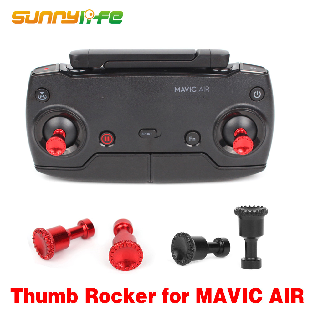 1Pair Transmitter Thumb Rocker Cover Metal Joysticks Replacement For MAVIC MINI 2 MAVIC AIR Drone Remote Controller Accessories