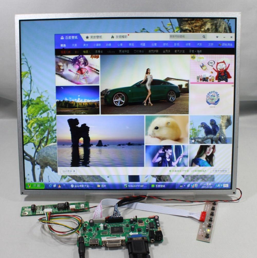 HDMI VGA DVI Audio lcd Controller board 19inch G190ETN01.0 1280X1024 lcd  M190ETN01.0/MT190EN02 V.W/M109EG01/M190EG01