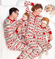 2017 Hot Christmas set family parent-child father and mother daughter son of good quality cotton printing