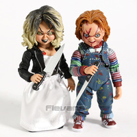 NECA Bride of Chucky Ultimate Chucky & Tiffany PVC Action Figure Collectible Horror Doll Toy