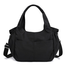 Fashion Waterproof Women Handbag Casual Large Shoulder Hobos Bag Nylon Big Capacity Tote Luxury Top-handle Design Crossbody