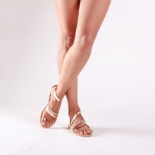 Promotion 2019 Summer New Women Sandals Flats Shoes Woman Beach Fashion Casual Slip-on Rome Low-cut Plus Size 35-43