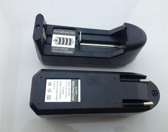 EU Plug Universal 18650 CR123A 14500 16340 AA AAA Li-ion Batteries Rechargeable Battery Charger for flashlights/headlamp
