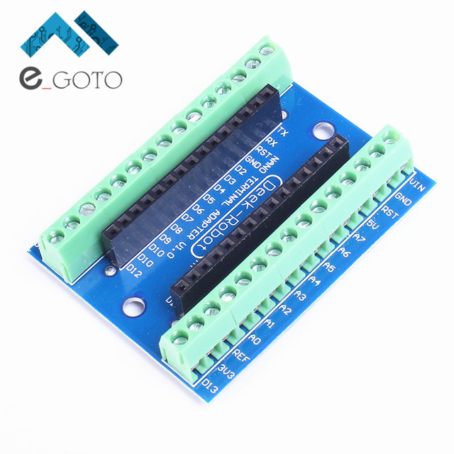 Nano Terminal Expansion Board Terminal Adapter Screw IO Shield Electronic Circuit For Arduino NANO