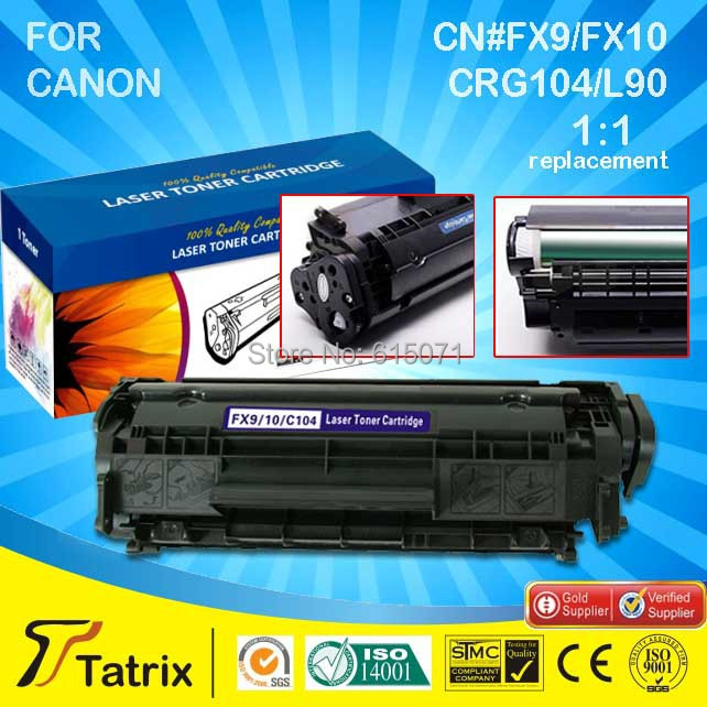 ФОТО Free shipping  For Canon 104 Toner Cartridge , Compatible 104 Toner Cartridge for Canon Fax L-100/L-120,Fax Phone 120