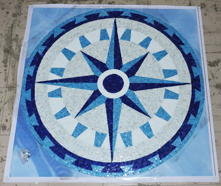 Painting Supplies & Wall Treatments Customization Glimmer Mural Wall Glass Mosaic Tile For Medallion Ceiling Floor Swimming Pool Salon Outdoor Decoration A Complete Range Of Specifications