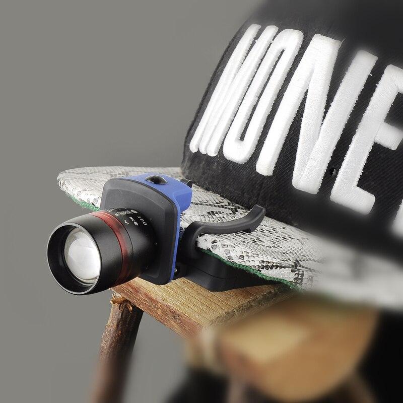 Zk50 Faro lampe frontale Zoomable lampada frontale impermeabile ha condotto la luce della clip Del Cappello linternas Spedizione gratuitaZk50 Faro lampe frontale Zoomable lampada frontale impermeabile ha condotto la luce della clip Del Cappello linternas Spedizione gratuita