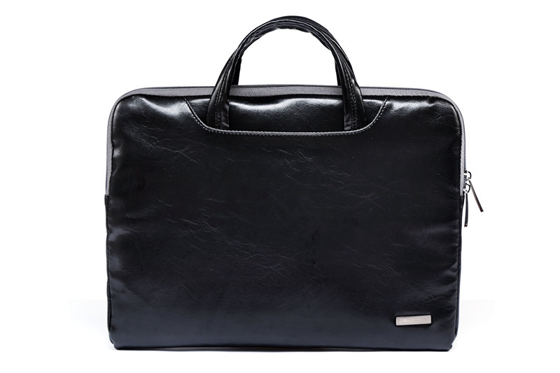 """Image 3 - 2019 New Brand Lisen Leather Handbag Bag For Laptop 11"""",13"""",15"""",15.6 inch,Case For MacBook Air,Pro 13.3"""",15.4""""Free Drop Shipping-in Laptop Bags & Cases from Computer & Office"""