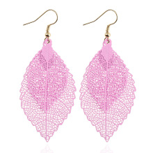 Bohemian Leaf Dangle Earrings