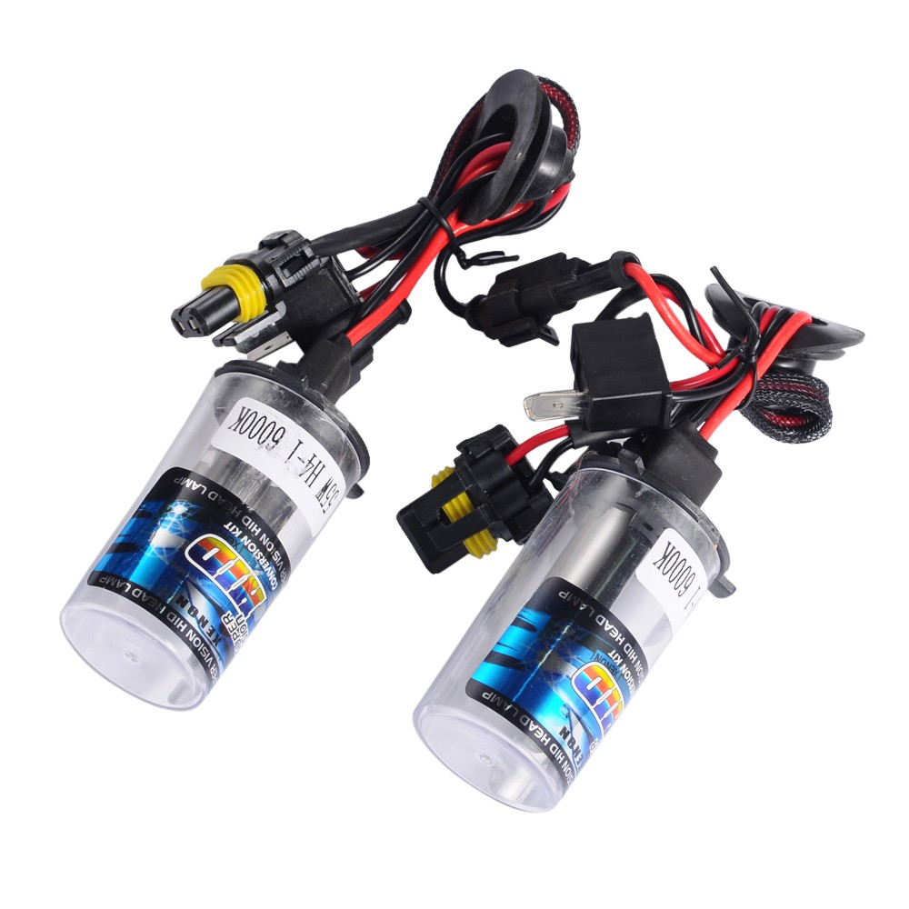 Xenon Hid Kit 12V 55W H4-1 Car Light Source Headlight Bulbs Lamp 3000K 4300K 5000K 6000K 8000K 10000K 12000K h1 3000k 4300k 5000k 6000k 8000k 10000k 12000k 30000k hid xenon lamp bulb12v35w factory sale lowest price