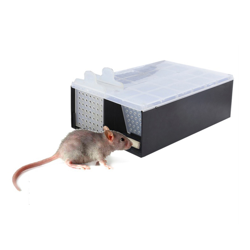 Home Mouse Trap Garden Humane Rat Cage Mice Rodent Repeller Catch Bait Hamster