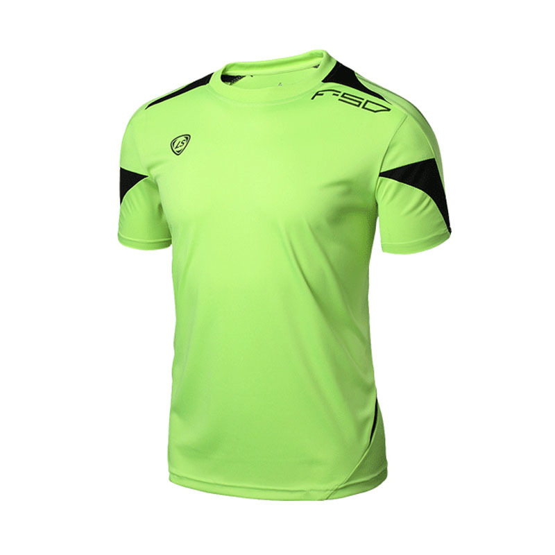 9c99558a LUCKY SAILING Brand Summer Outdoors Fun Sport Clothes Men Running T-Shirts  Football Tops Quick Dry Fit Fitness Men Sport T Shirt