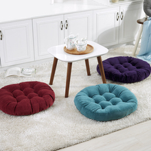 Comfortable Office Chair Backrest Seat Cushion Home Decoration Waist Pillow Sofa Seat Cushion Round Buttock Sitting Pad 40/50cm