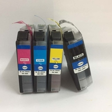 LC233 LC231 Ink Cartridge For Brother DCP-J4120DW DCP-J562DW MFC-J480DW MFC-J680DW MFC-J880DW MFC-J4620DW MFC-J5720DW 1set full ink for brother lc221 lc 221 231xl ink cartridge for brother dcp j562dw mfc j480dw mfc j680dw mfc j880dw