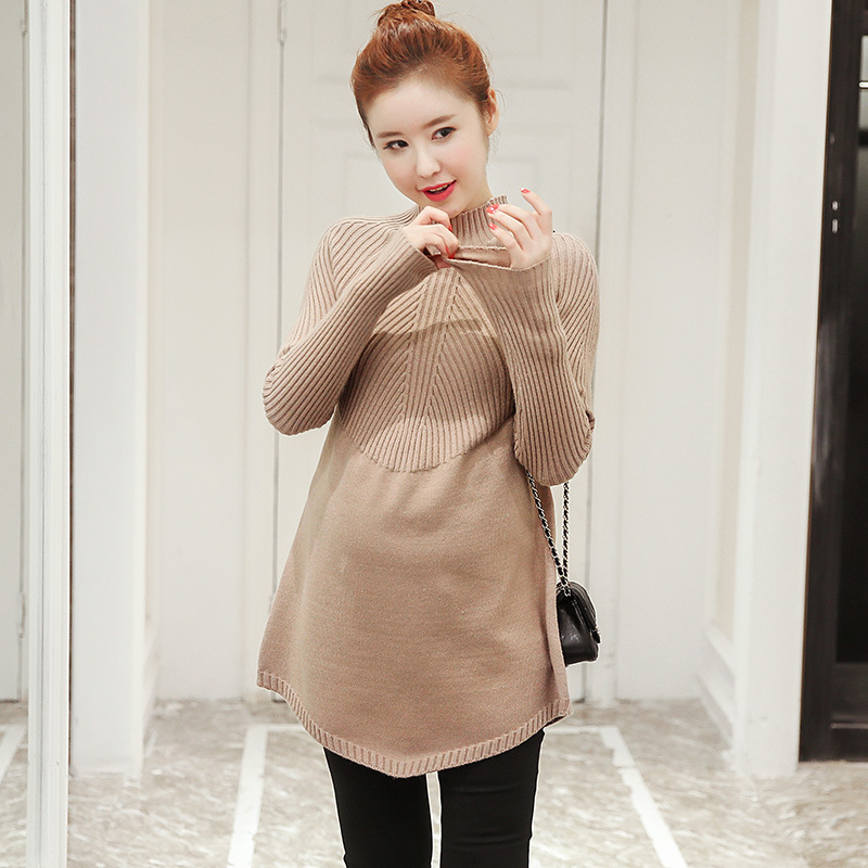 Winter Maternity Clothes Nursing Top Pregnant Women Maternity Sweater Pullover cClothes For Pregnant Women Y827